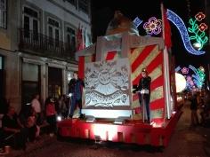 Carro 140 anos dos Bombeiros Voluntários de Guimarães